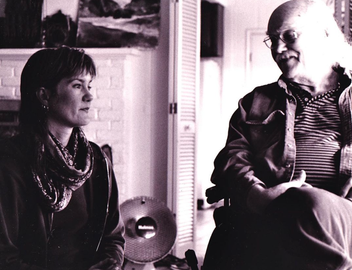 Connie and Ram Dass